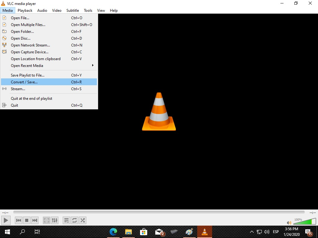 vlc save recorded video
