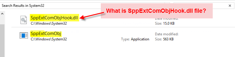 what is sppextcomobject.dll process