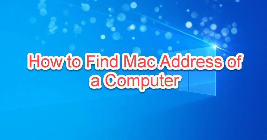 find-mac-address