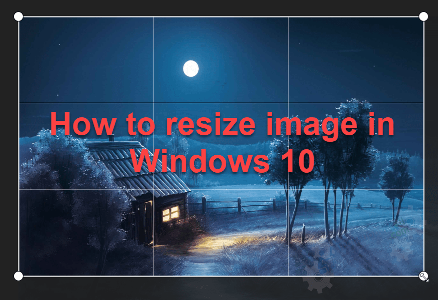 how to resize image in windows