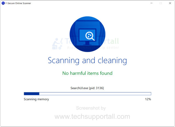 F-secure Free online virus scanning and cleaning