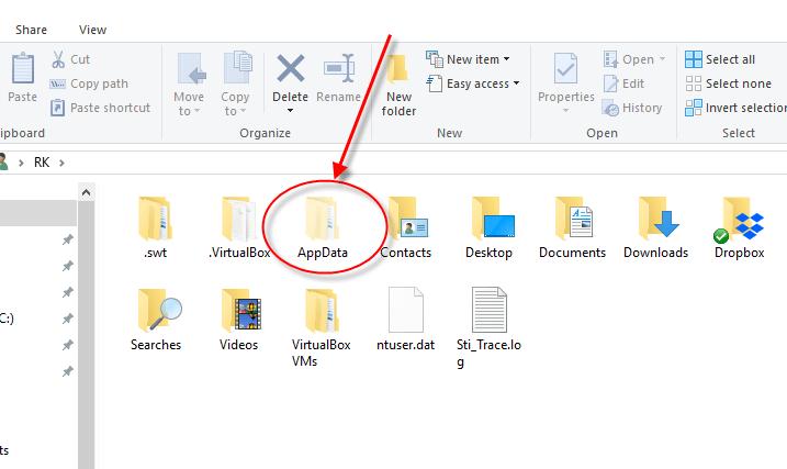 view hidden system files