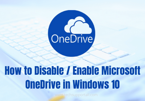 disable enable microsoft onedrive