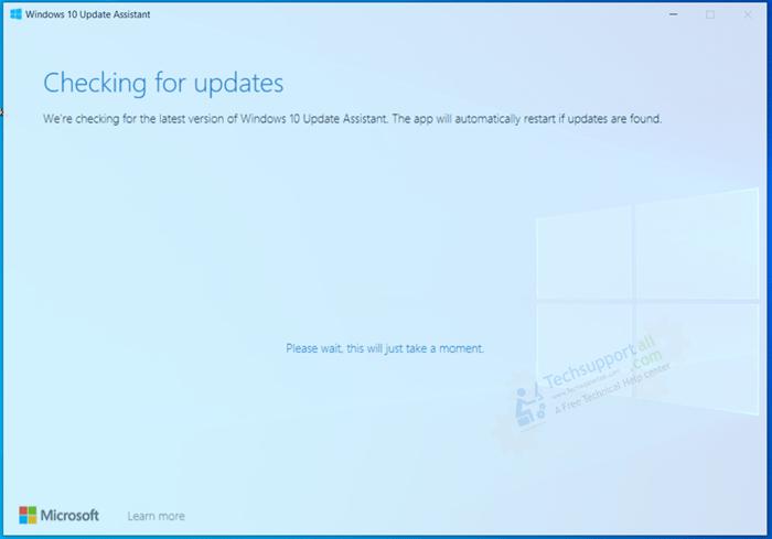 Fix windows update errors using Windows update assistant