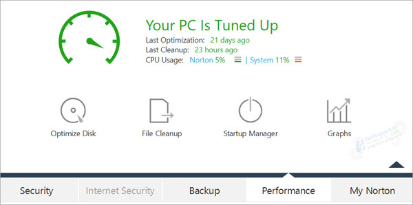 Norton  PC Tune up
