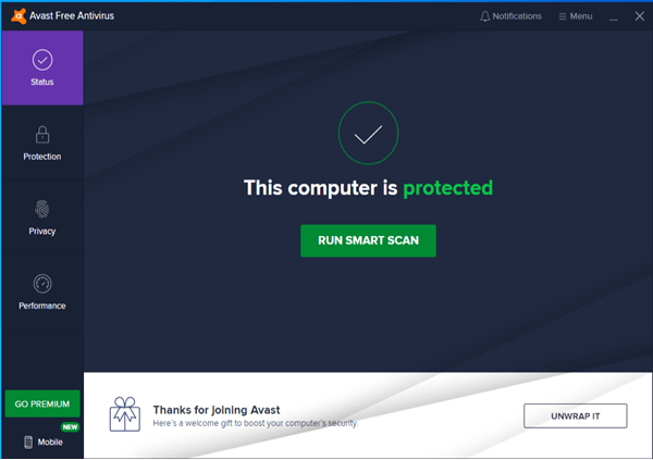 Best Free Antivirus Software Always Free Not Trial