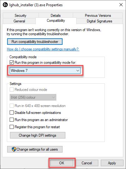 ghub installer compatibility