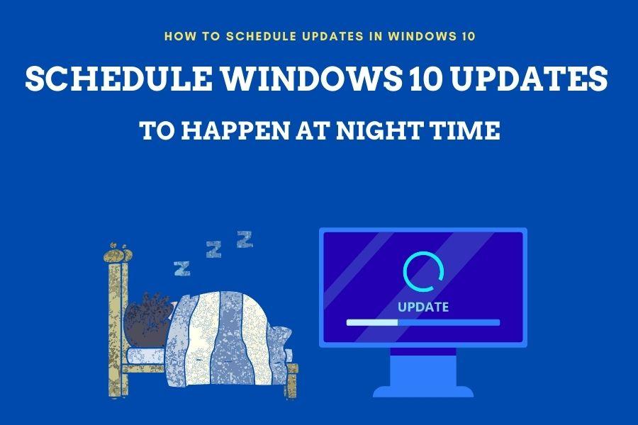 Schedule Windows 10 updates