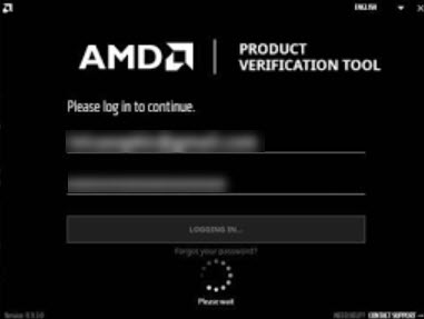 AMD-Verfication-Tool