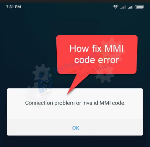 fix mmi code error